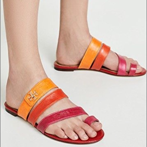 Tory Burch Kira Toe Ring Sandals